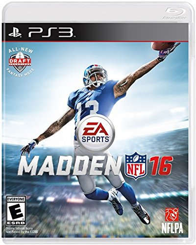 Madden NFL 16 PS3 Physical Game Disc US