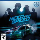 Need for Speed PS4 Physical Game Disc US