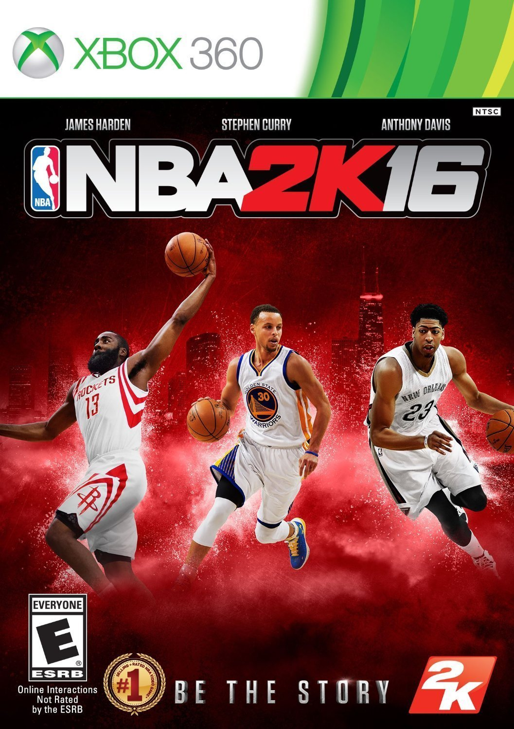 NBA 2K16 Xbox 360 Physical Game Disc US
