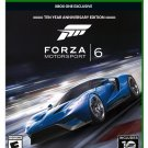 Forza Motorsport 6 Xbox One Physical Game Disc US