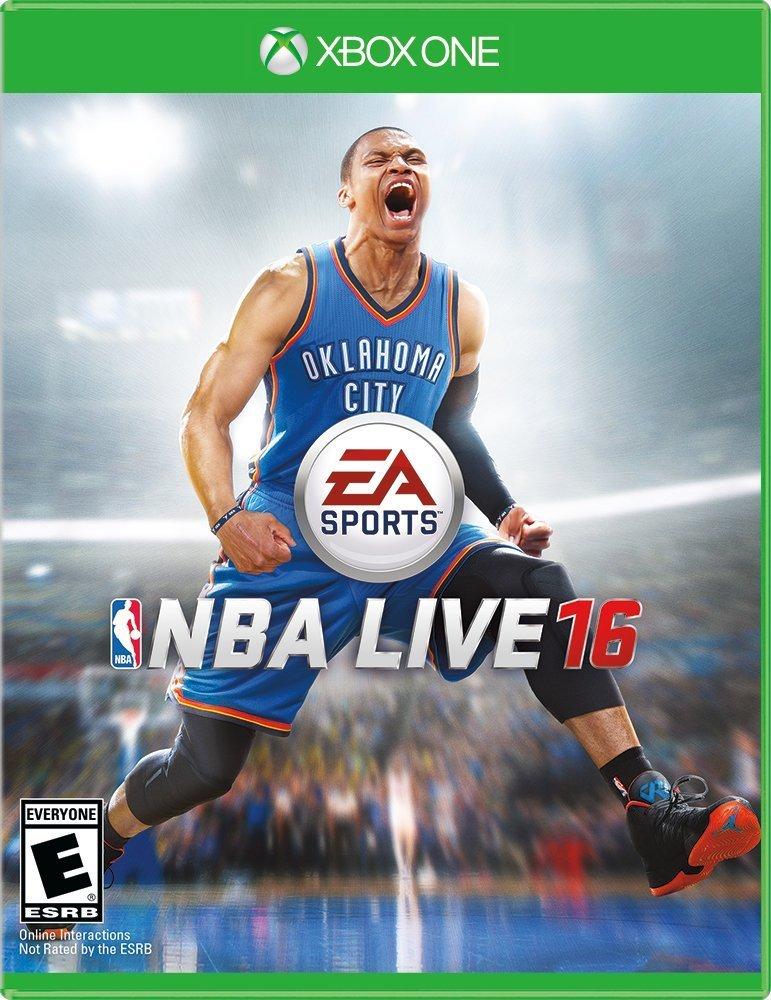 NBA Live 16 Xbox One Physical Game Disc US