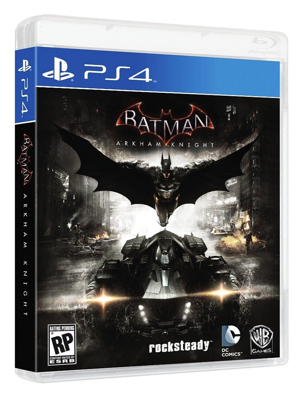 Batman: Arkham Knight PS4 Physical Game Disc US