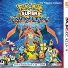 Pokemon Super Mystery Dungeon 3DS Physical Game Cartridge US