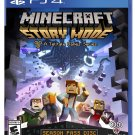 Minecraft: Story Mode - Season Disc PS4 Physical Game Disc US