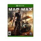 Mad Max Xbox One Physical Game Disc US