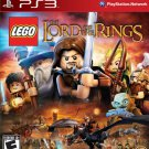 LEGO Lord of the Rings PS3 Physical Game Disc US