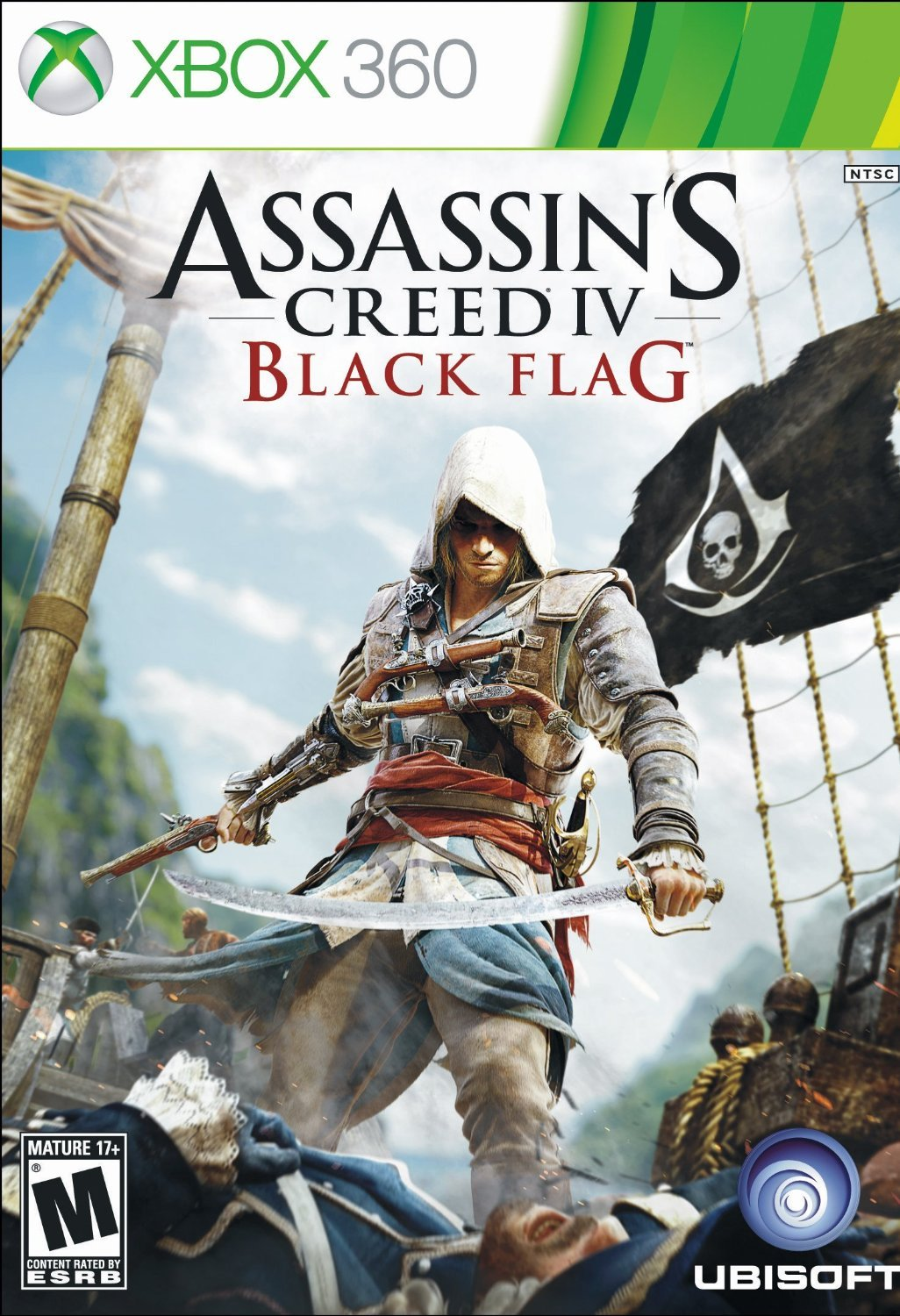 Assassin's Creed IV Black Flag Xbox 360 Physical Game Disc US