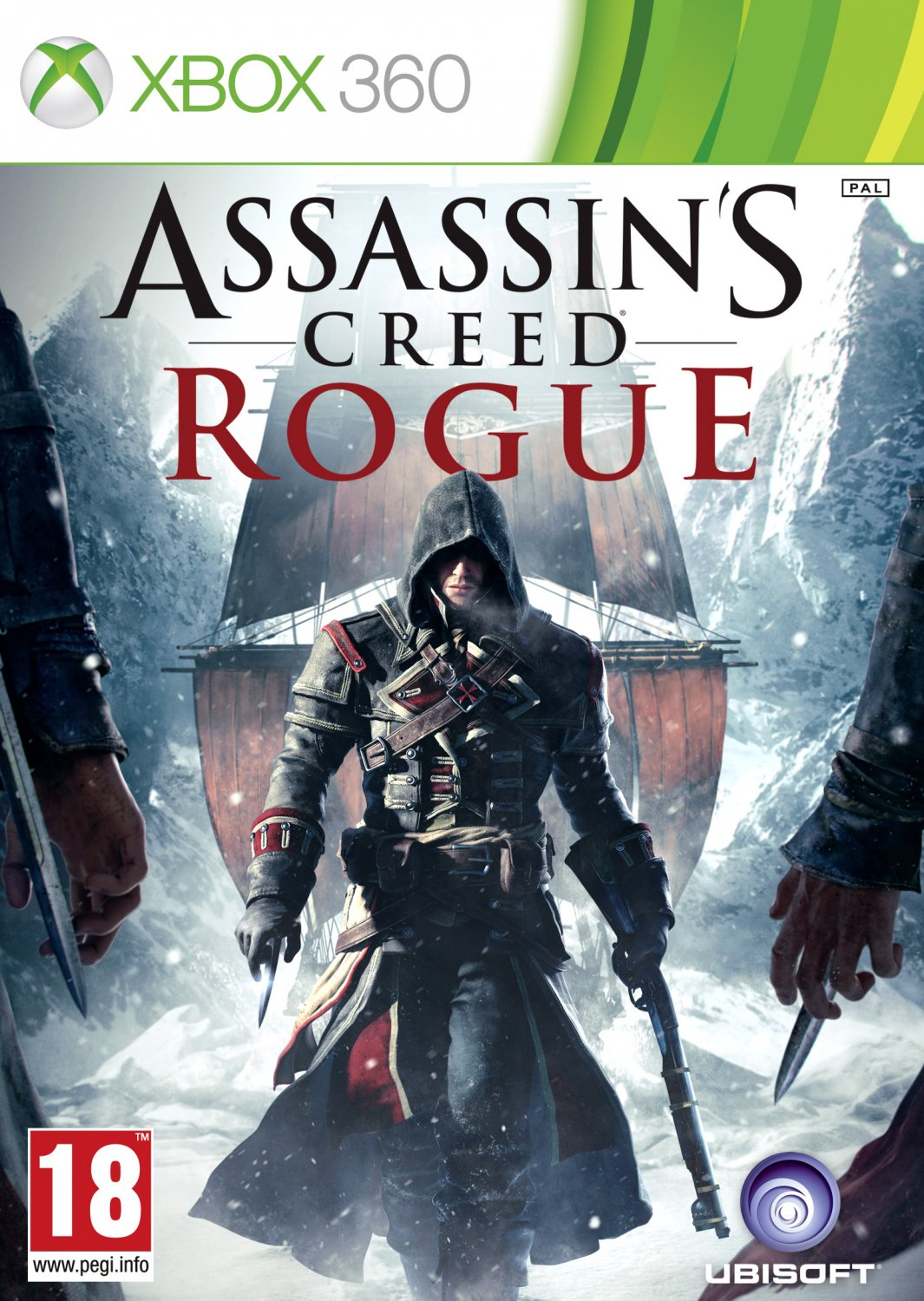Assassin's Creed Rogue Xbox 360 Physical Game Disc US