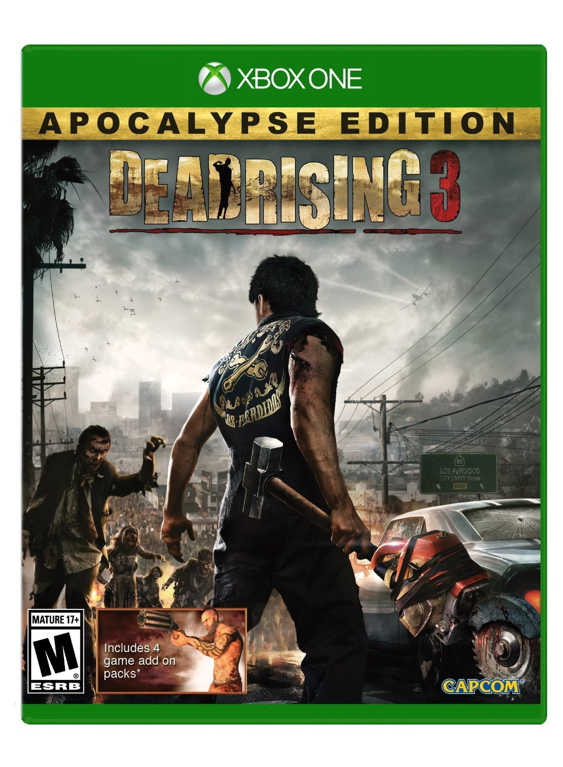 Dead Rising 3: Apocalypse Edition Xbox One Physical Game Disc US