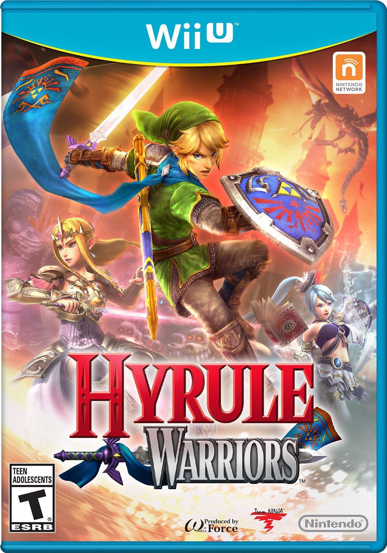 Hyrule Warriors Wii U Physical Game Disc US