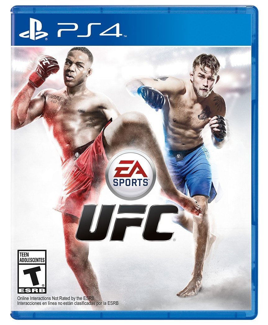 UFC PS4 Physical Game Disc US
