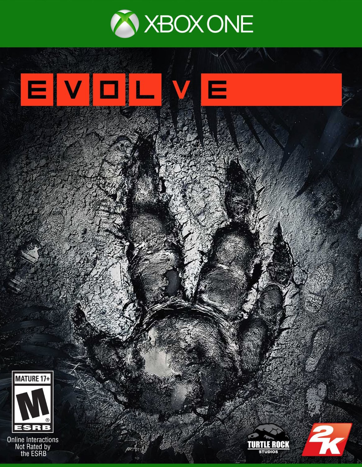 Evolve Xbox One Physical Game Disc US