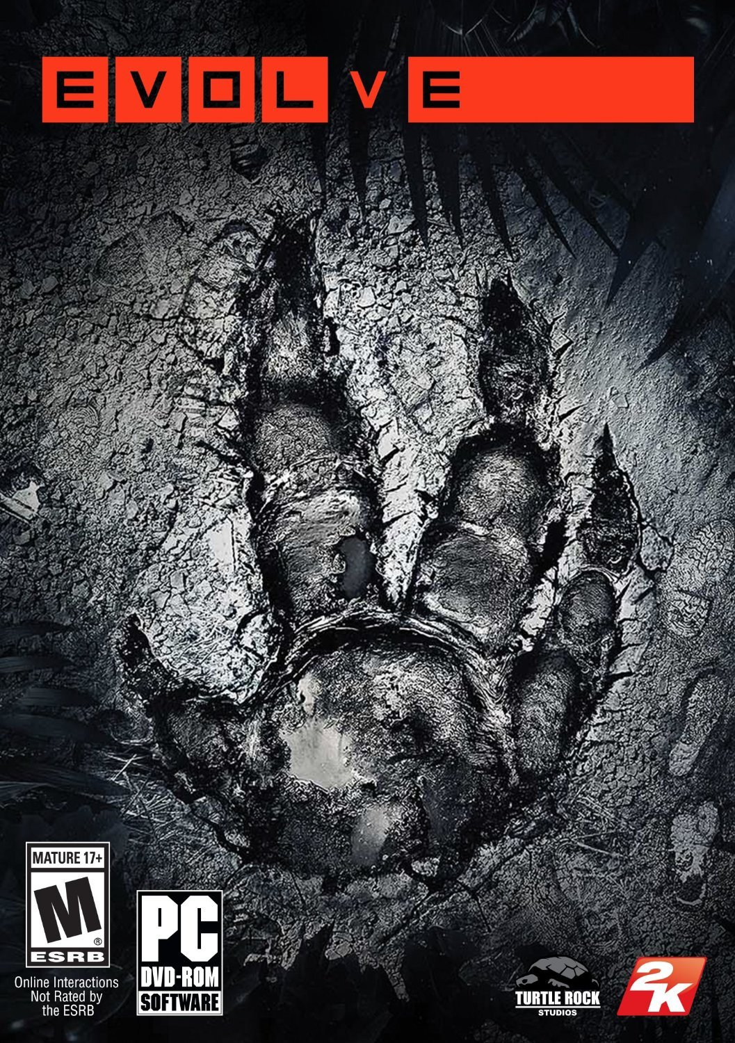 Evolve Windows PC Physical Game Disc US