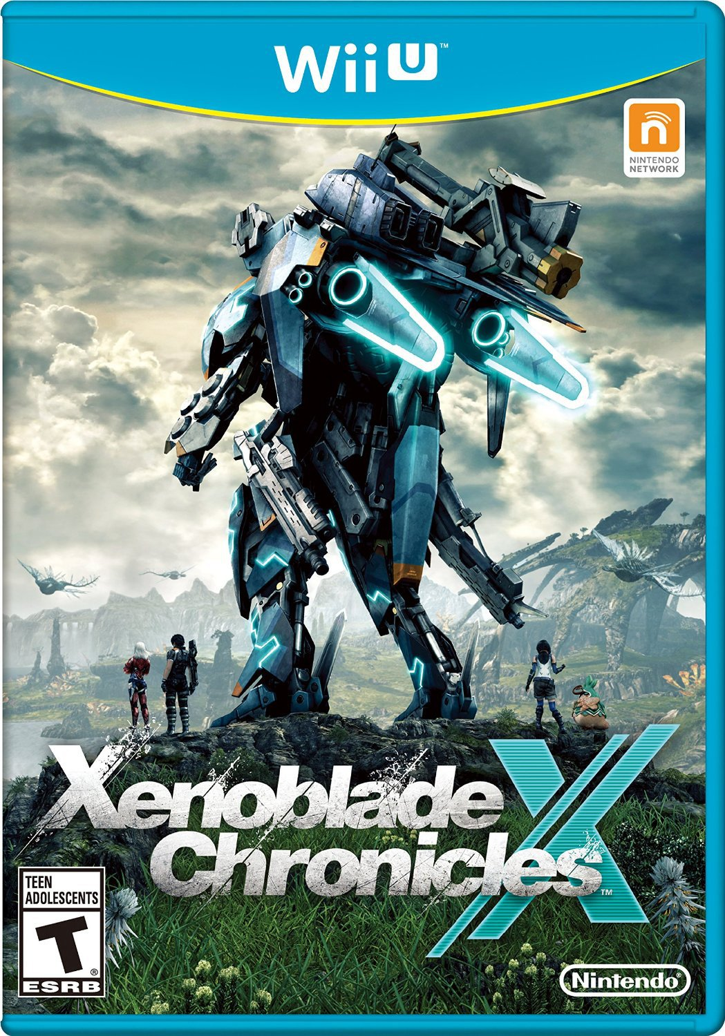Xenoblade Chronicles X Wii U Physical Game Disc US