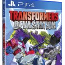 Transformers Devastation PS4 Physical Game Disc US