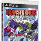 Transformers Devastation PS3 Physical Game Disc US