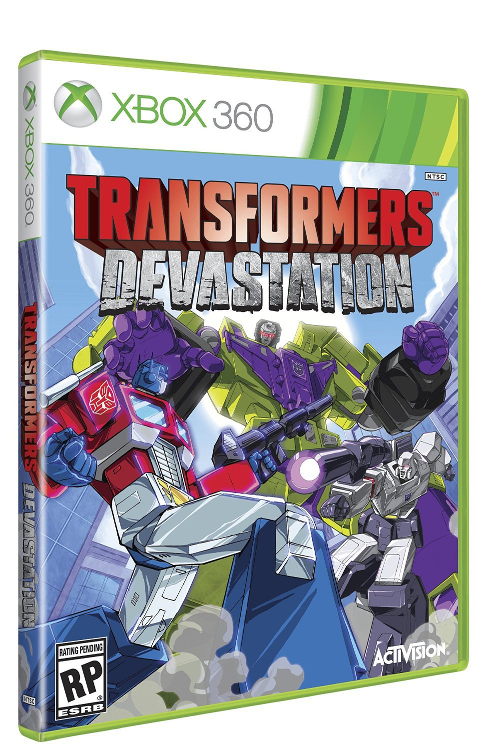 Transformers Devastation Xbox 360 Physical Game Disc US