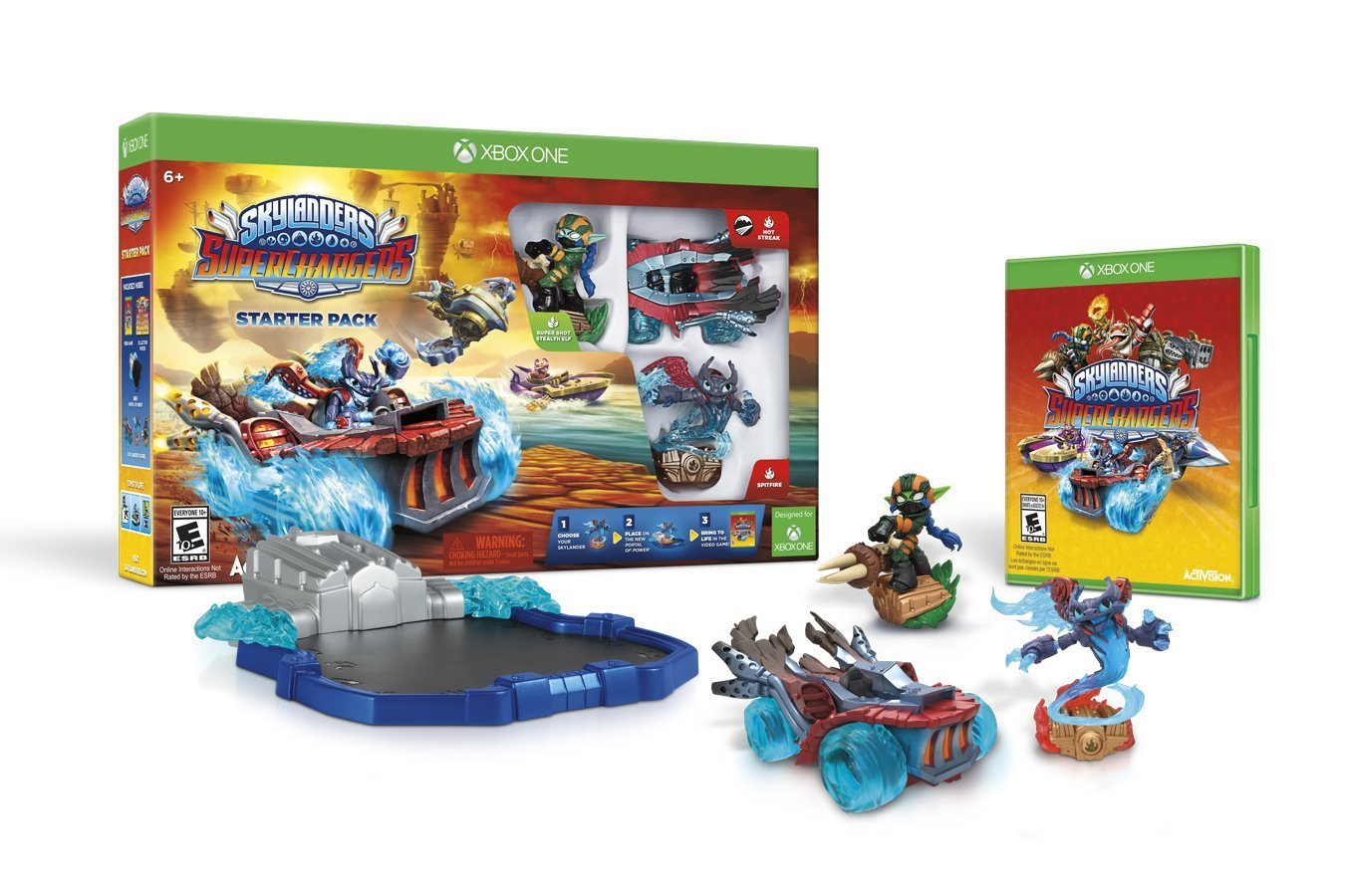 Skylanders SuperChargers Starter Pack Xbox One Physical Game Disc US