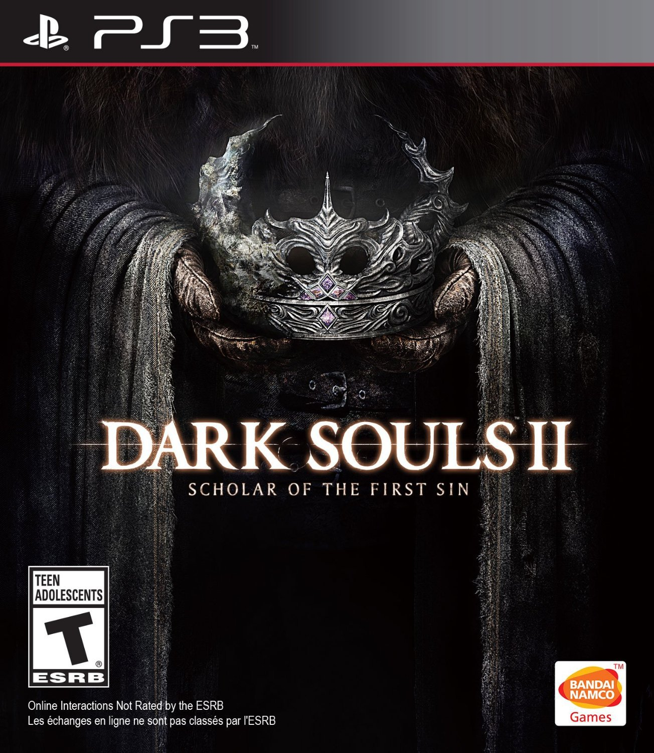 Dark Souls II: Scholar of the First Sin PS3 Physical Game Disc US