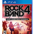 Rock Band 4 PS4 Physical Game Disc US