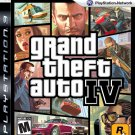 Grand Theft Auto IV PS3 Physical Game Disc US