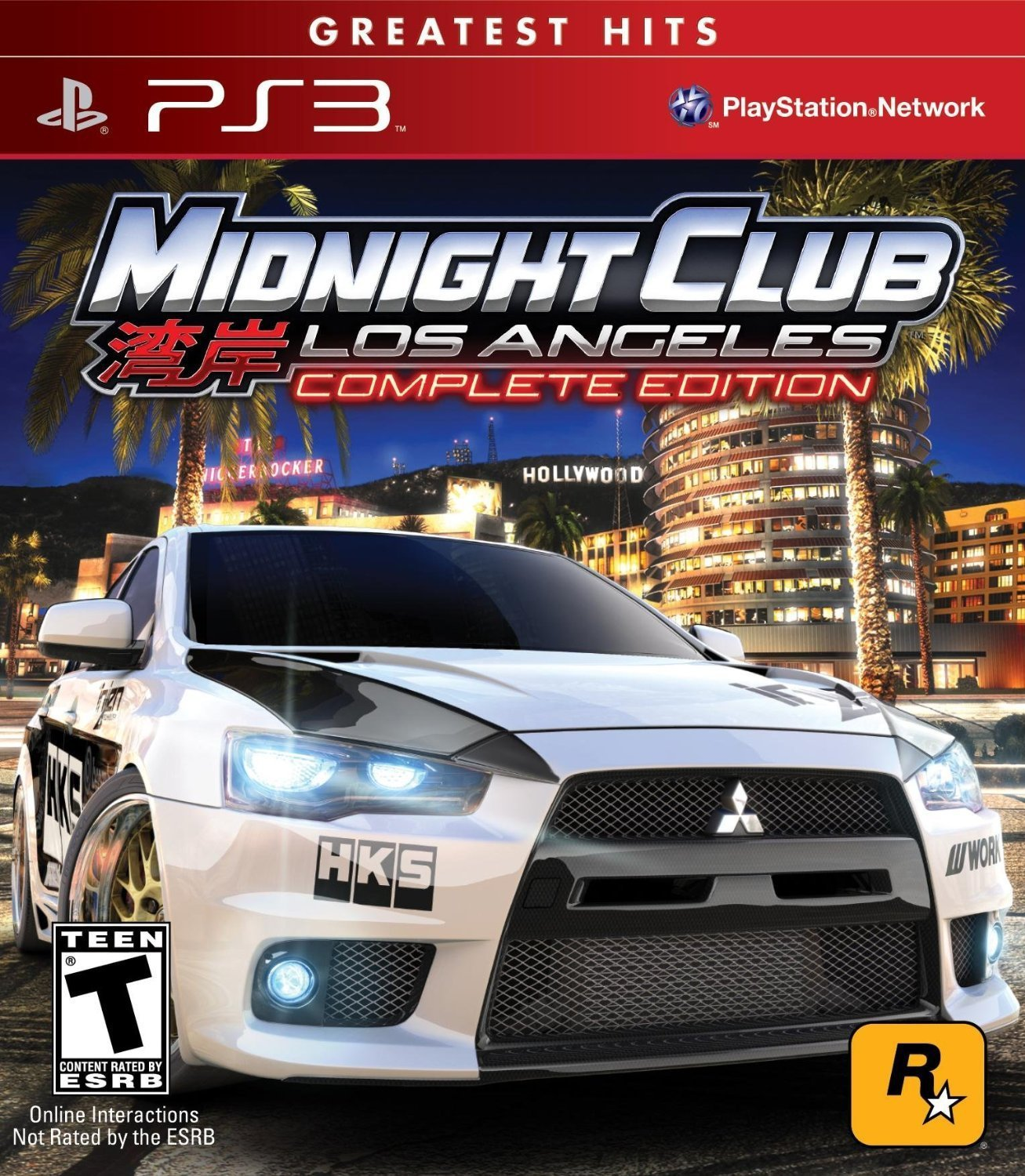 Midnight Club: Los Angeles - Greatest Hits - Complete Edition PS3 Physical Game Disc US