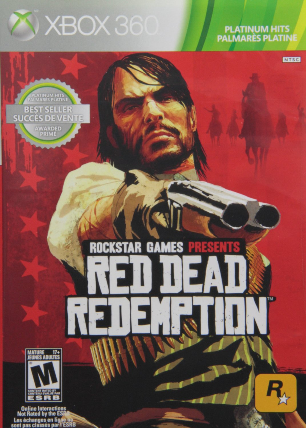 Red Dead Redemption Xbox 360 Physical Game Disc US