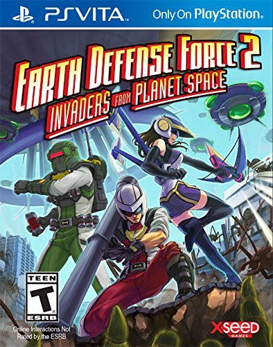 Earth Defense Force 2: Invaders from Planet Space PSVita Physical Game Cartridge US