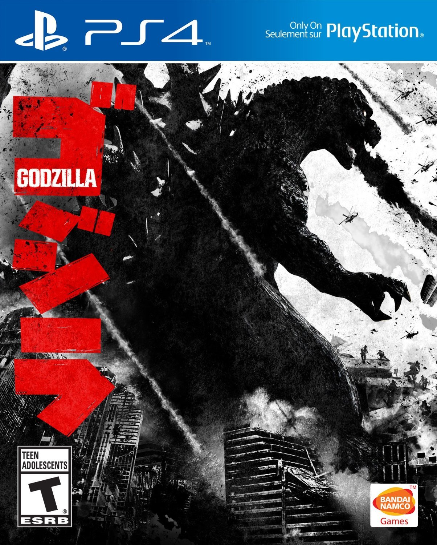 Godzilla PS4 Physical Game Disc US