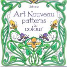 Art Nouveau Patterns to Colour Kids Adult For Relieve Stress Kill Digital Copy