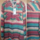 NWT $65 Polo by Ralph lauren big boys multicolor western shirt.large