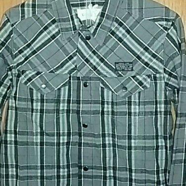 $79 NWT Diesel boys button down  long sleeve shirt.