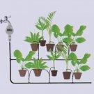 VANCY Automatic Solar Power Garden Water Timer Irrigation Intelligent Watering Digital Controller