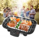 VANCY Household Electric Barbecue Grill Cooking Broiler Garden Black Smokeless BBQ Indoor Grill