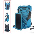 VANCY Outdoor Camping Hiking Solar Charger Backpack w/ 2.5L Water Bag