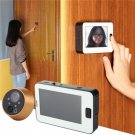 4.3 inch LCD Electronic Digital Peephole Viewer 170 Degree Wide Angle Smart Door Bell