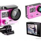 VANCY H8 Pro Dual Screen 4K Ultra HD Wifi Sports Action Camera