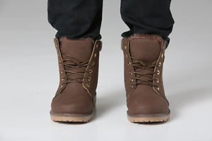 Polar Whites Men's Brown Artic Crunch Snowboots