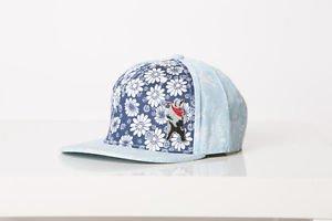 Polar Whites women paisley beak and floral cap