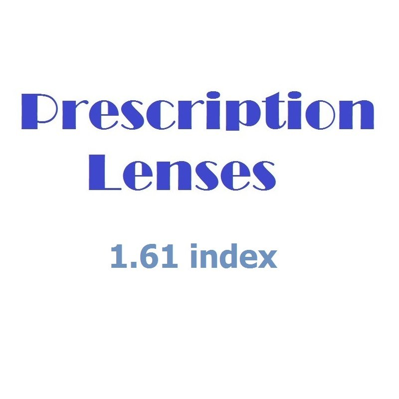Glazing Service for Prescription Glasses - Silver Pack (1.61 index).