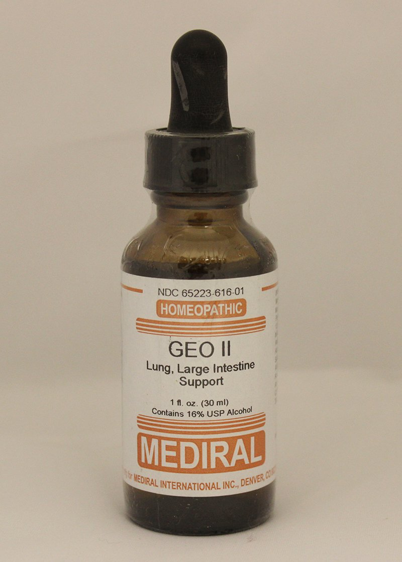 Natural Home Remedy for Lung, Large Intestine Support   GEO II Homeopathic