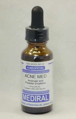 Natural Home Remedy for Skin outbreaks, Acne | Acne Med Homeopathic