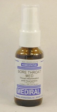 Natural Home Remedy for Throat Inflammation and Hoarseness | Sore Throat Spray Homeopathic