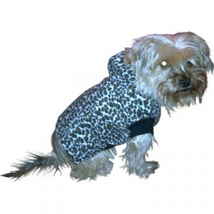 Leopard Fleece Hoody