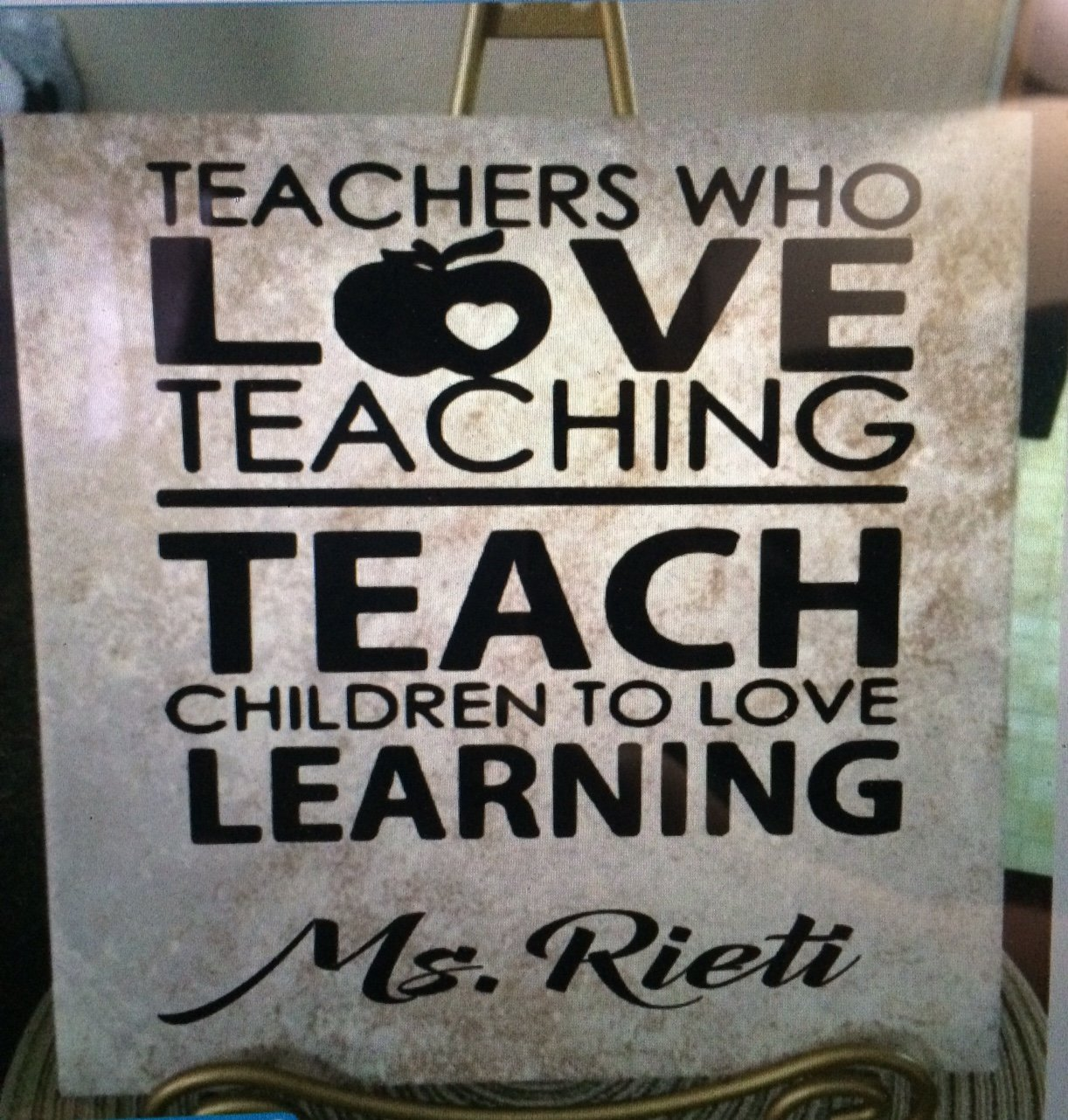 Teacher gifts apple best school personalized ceramic tile 12 x 12 teacher gifts apple best school personalized ceramic tile 12 x 12 custom gift love dailygadgetfo Choice Image