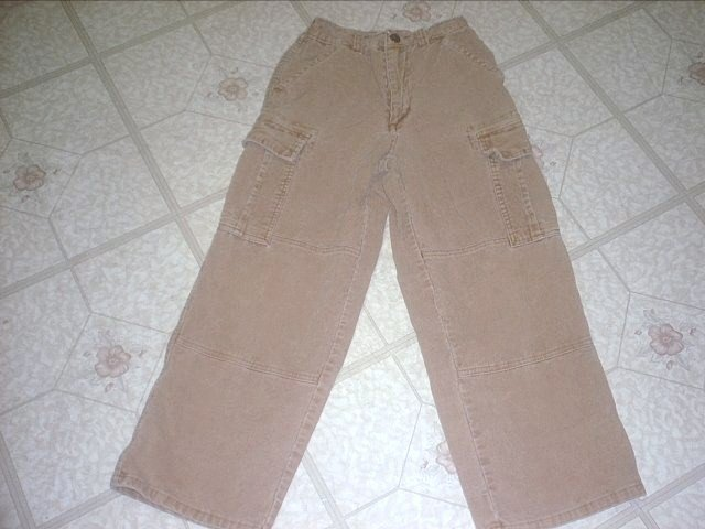 Boy's OshKosh Corduroy cargo pants Size 7x ~NEW~