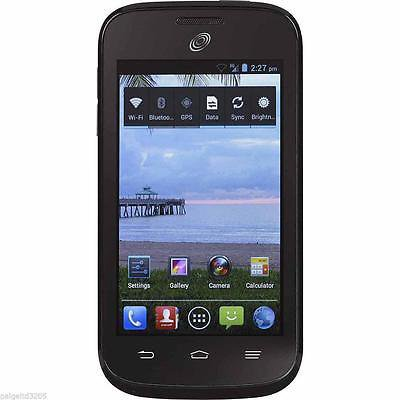 ZTE Midnight Prepaid Mobile Phone for Net 10 Wireless - Black New Sealed