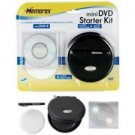 Memorex Mini DVD Starter Kit For DVD Camcorders With Travel Case And more