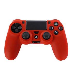 RED CONTROLLER SKINS PLAYSTATION 4 CONTROLLERS FREE CONTROLLER STICK COVERS PS4