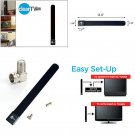 New Clear TV Key HDTV FREE TV Digital Indoor Antenna Fast Easy Get Local Tv Free